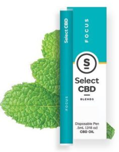 CBD製品紹介:Cura Select Blends CBD Vape Pen – ペパーミント