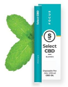 CBD製品紹介:Cura Select Blends CBD Vape Pen – スペアミント