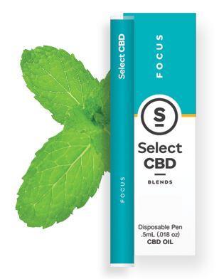 CBD製品紹介:Cura Select Blends CBD Vape Pen – スペアミント