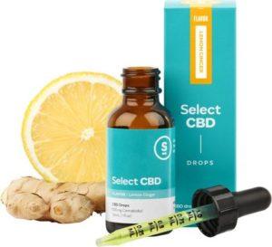 CBD製品紹介:Cura Select Drops CBD Tincture – レモン&ジンジャー