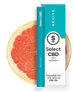 CBD製品紹介:Cura Select Blends CBD Vape Pen グレープフルーツ