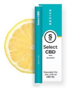 CBD製品紹介:Cura Select Blends CBD Vape Pen – レモン